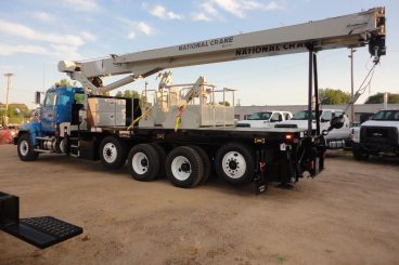 National Crane Boom Truck