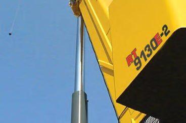 Grove Rough Terrain crane