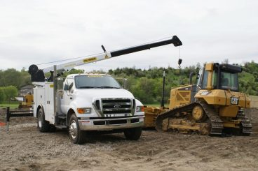Truck Mounted Crane - Palfinger Pal Pro