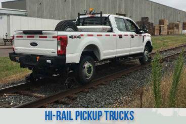 railroad high rail railroad pickup trucks