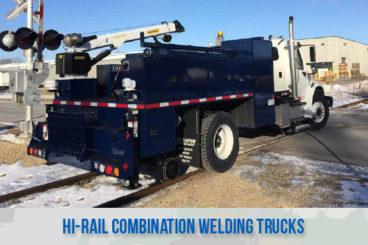 railroad high rail railroad welding trucks