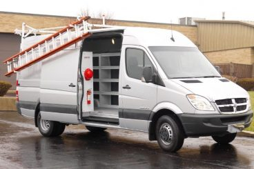 Weather Guard Van Shelving and Ladder Rack