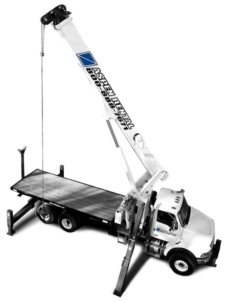 Crane and Boom Truck for Rent