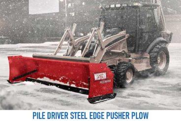 Western Steel Edge Pile Driver Plow