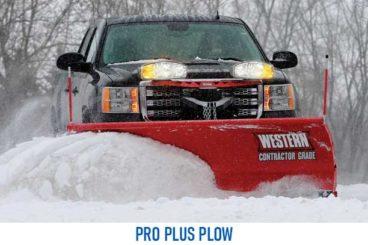 Western Pro Plus Plow