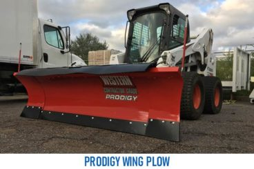 Western Prodigy Wing Plow