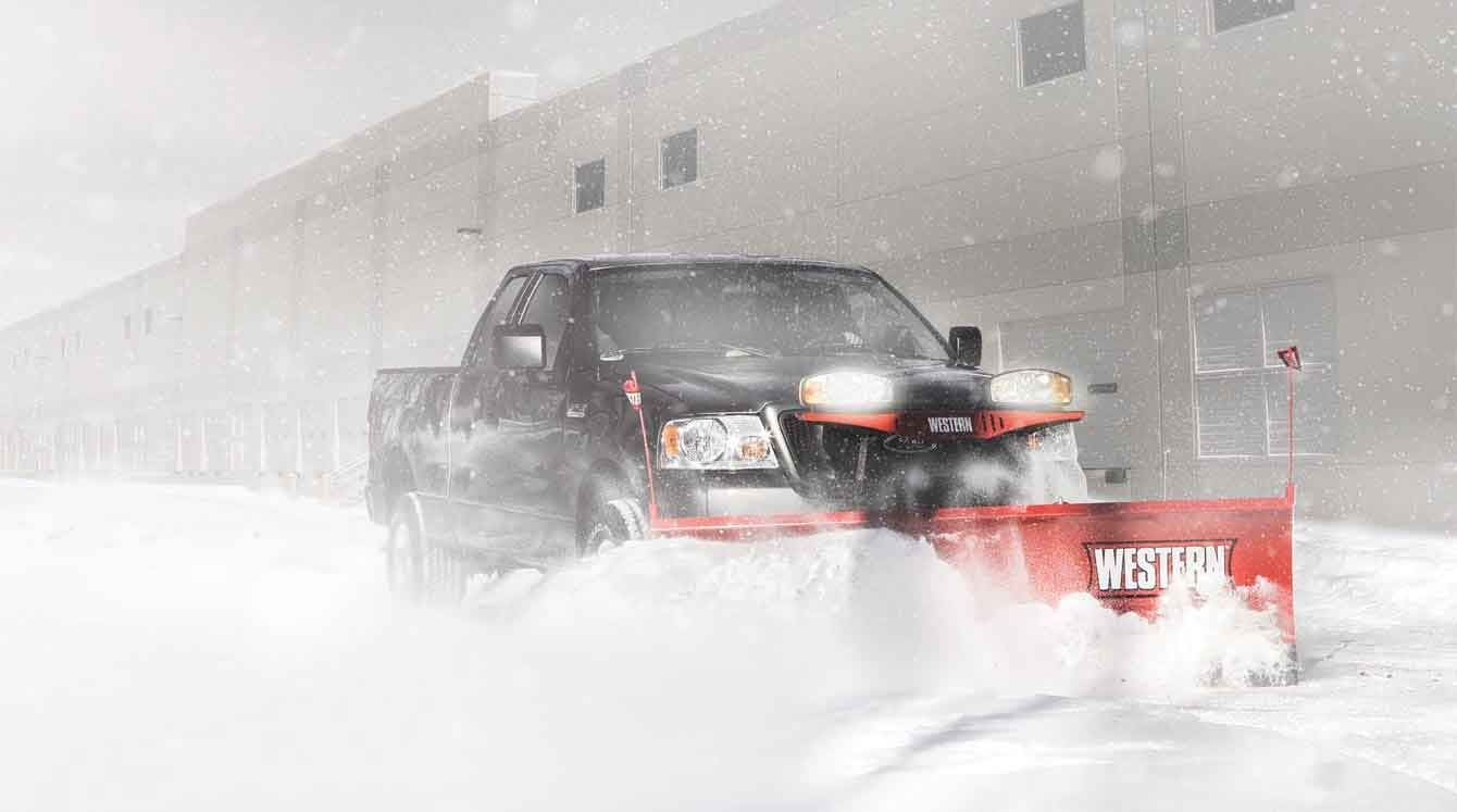 Western Plows and Ice Control