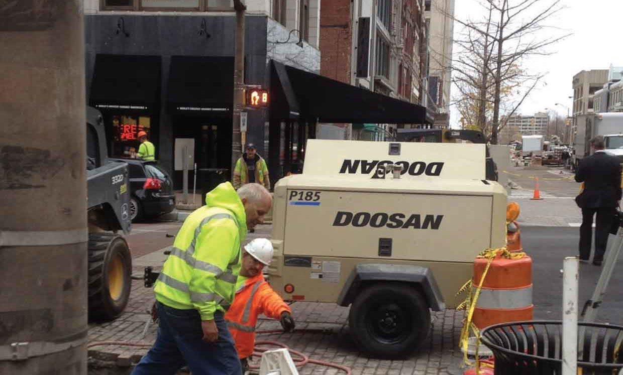 Doosan Portable Power Air Compressors