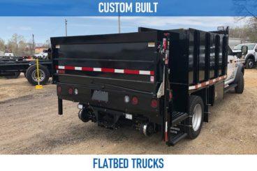 Railroad custom built flatbed trucks