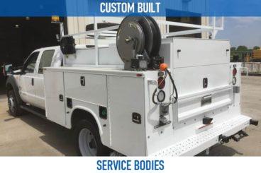 Railroad custom built service bodies