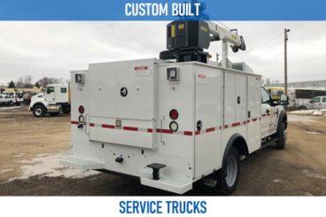 Railroad custom built service trucks