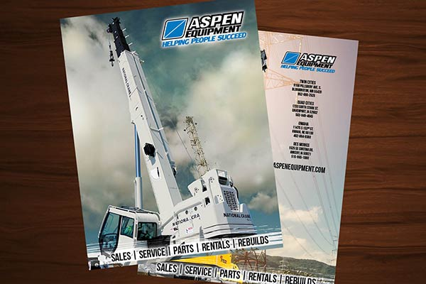 Aspen Equipment product catalog