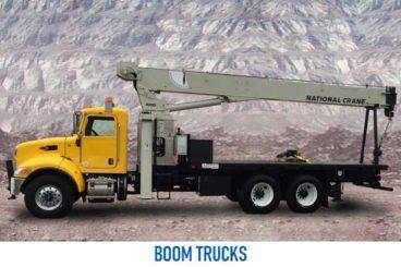 Mining Boom Truck