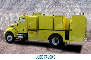 Mining Lube Truck