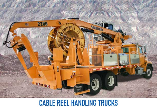 cable reel handling trucks