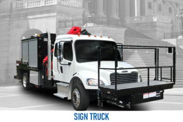 vocational sign truck