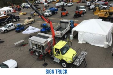 sign truck