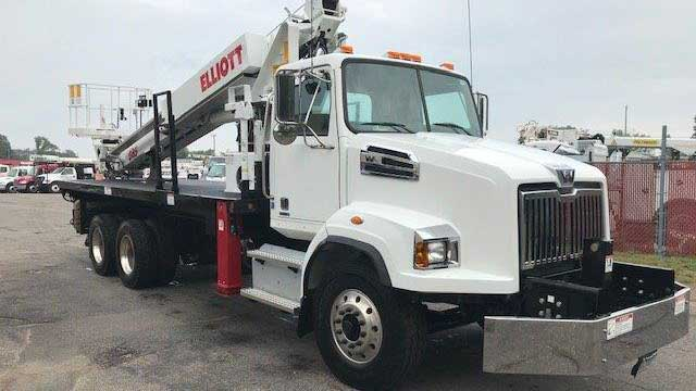 Purpose-built Ram 5500, Elliott L60, 60 ft working height