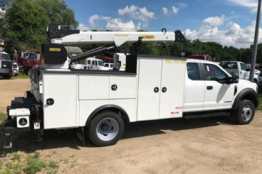Purpose-built Ford F-550 mechanics service truck