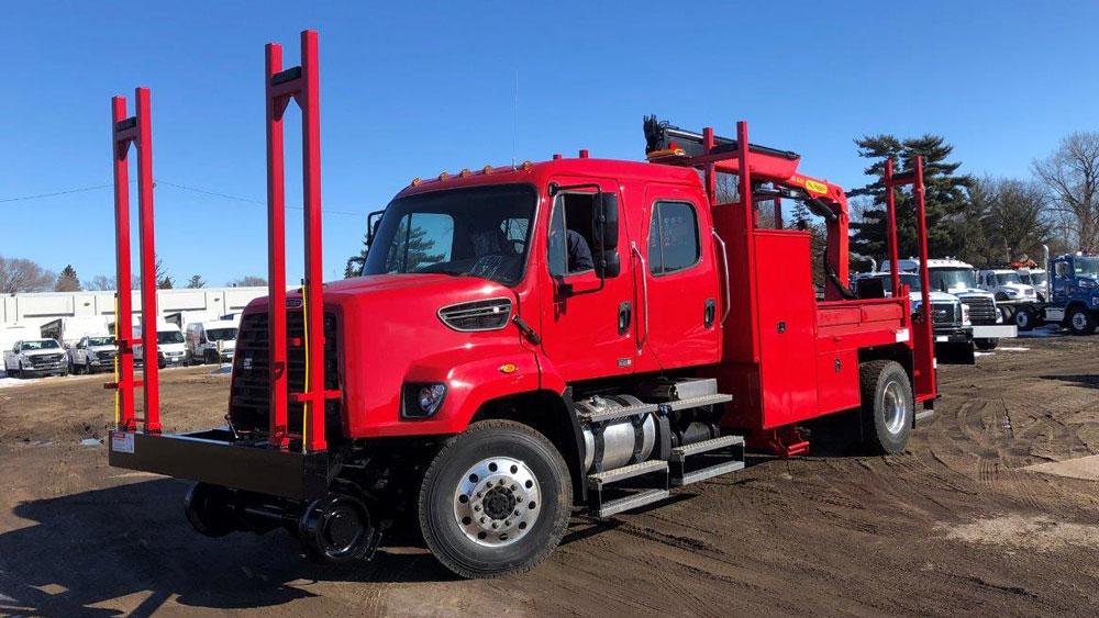 Ford F750, Palfinger PK 9000 19,000 lbs capacity, 18'4