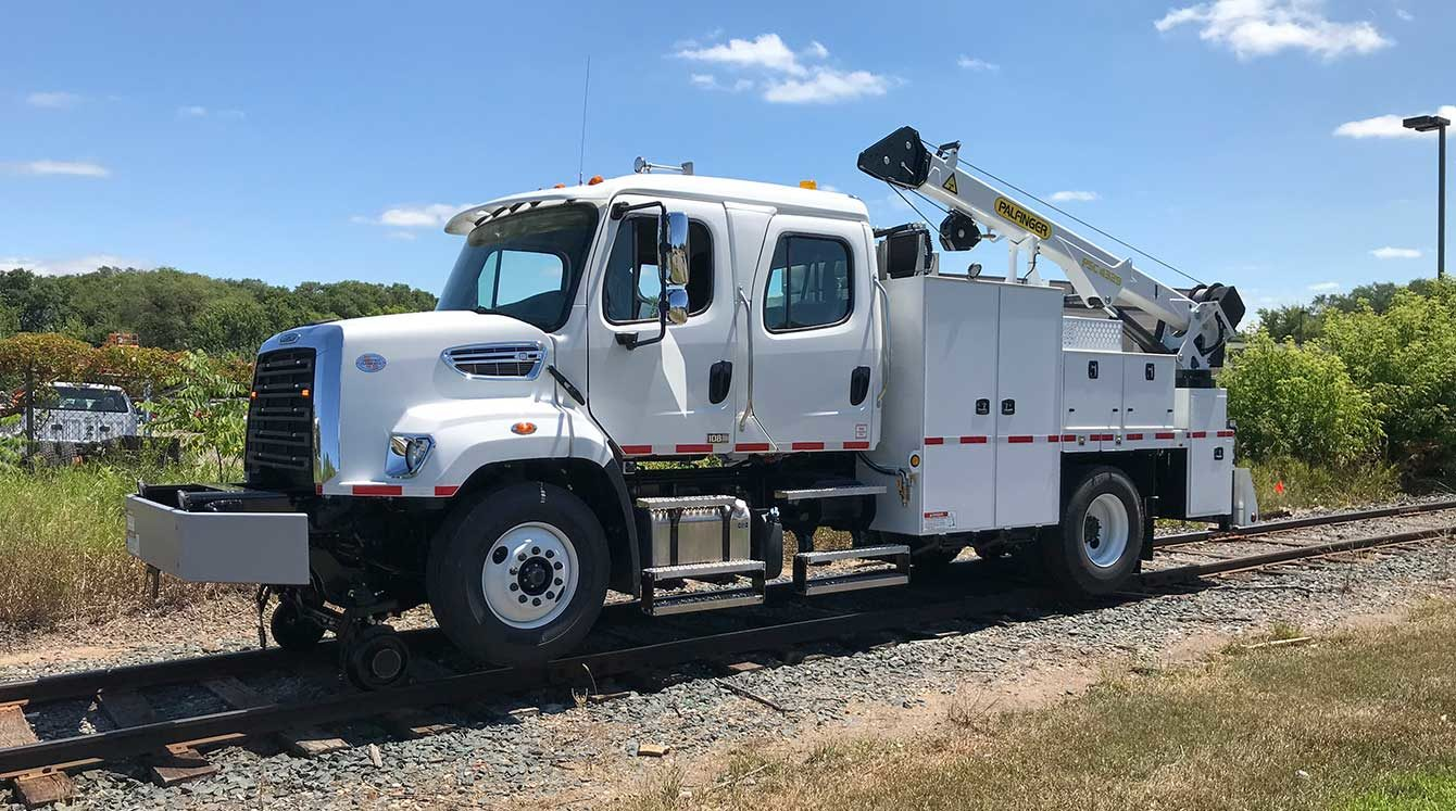 Purpose-built Freightliner 108SD