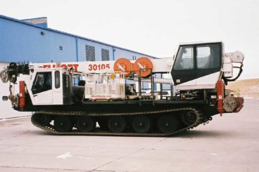 Elliott 30105 Digger mounted on Prinoth Tracked Carrier