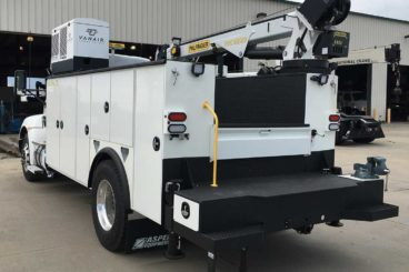 VanAir Air-N-Arc diesel-powered all-in-one service truck air compressor, welder, and hydraulic source unit