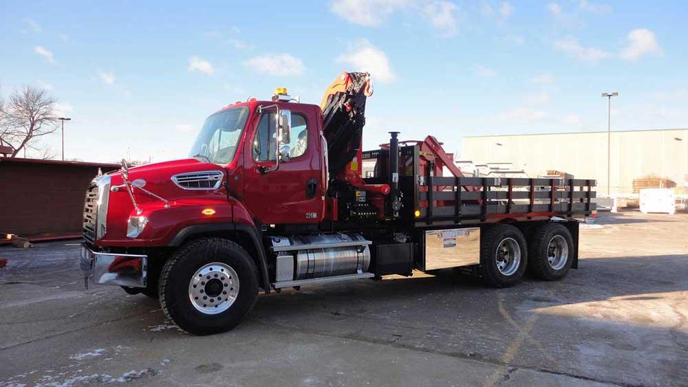 Palfinger PK9501 SLD5 service truck