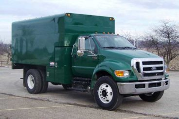 ArborTech 14 ft chipper truck body with
