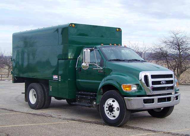 ArborTech 16 ft chipper truck body with