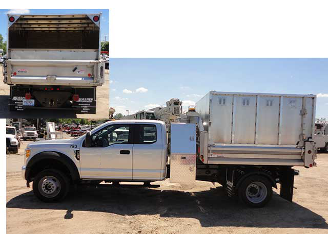 ArborTech 16 ft chipper truck body for sale with