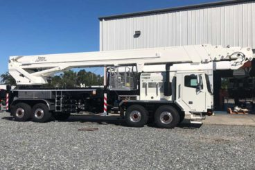 197 ft Bronto SI series 500kV insulated aerial work platform on Tor chassis