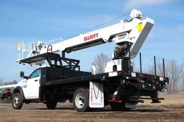 Elliott M43 43 ft material handling aerial