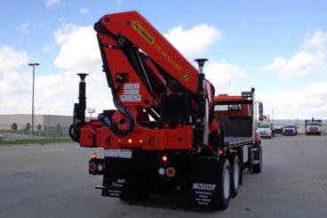 Palfinger PK41002EH articulating crane going into the precast concrete industry