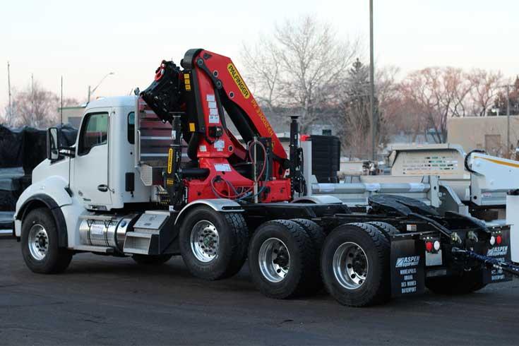 Palfinger PK33002EH articulating crane tractor-mounted