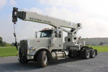 National NBT30H 30 ton stand-up tractor-mounted boom truck