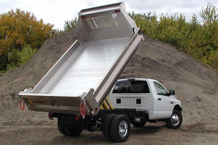 Scott Tafco Magnum series aluminum dump body
