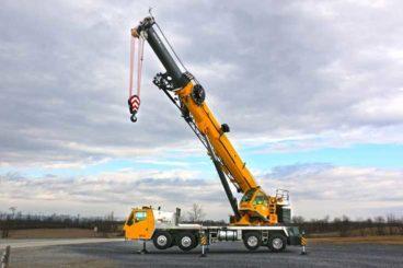 Grove TMS9000-2 truck crane, 115 tons, 169 ft hydraulic main boom