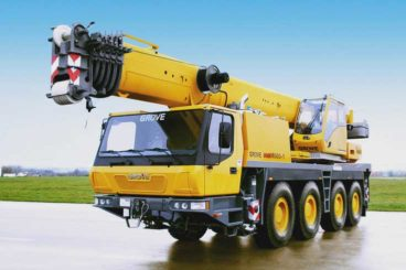Grove GMK4080-2 all-terrain crane, 88 tons, 16 ft hydraulic main boom