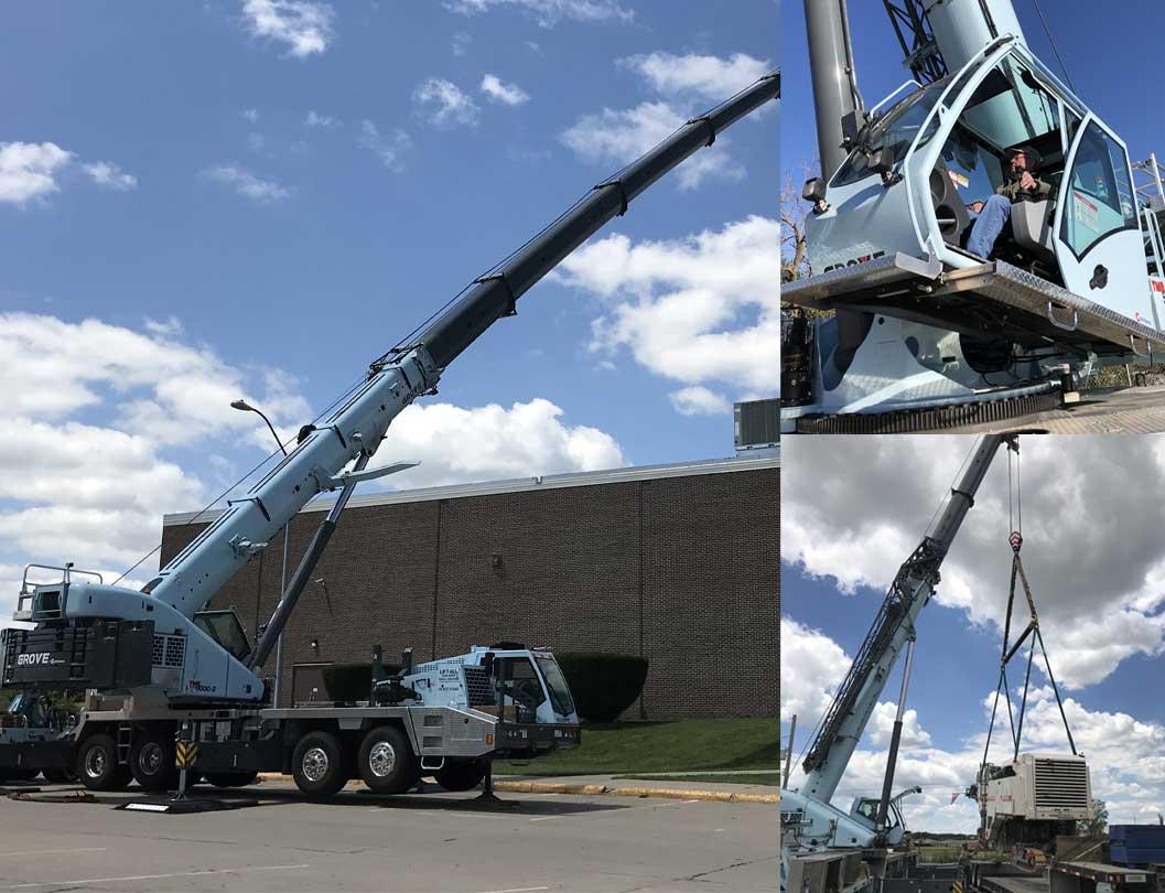 Aspen Delivers Second Grove Truck Crane to Lift-All Crane Service